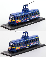 Free Shipping Static car models ATLAS 1:8 7 1937 British pools amusement beach 4 # tram line tram Switzerland zakka decoration