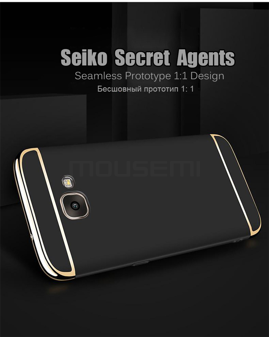 MOUSEMI Phone Cases For Samsung Galaxy A3 A5 A7 2016 2017 Case Luxury For Samsung Galaxy A8 plus 2018 Case 360 Full Covers Coque (3)