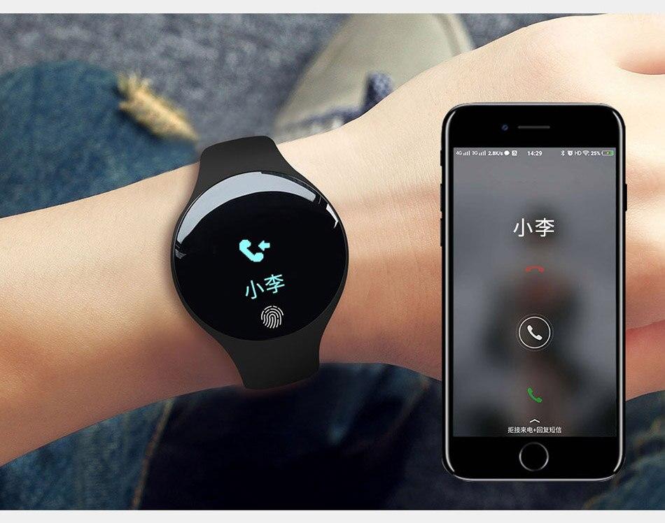 SANDA Bluetooth Smart Watch Men Women inteligente Sport Digital Clock For IOS Android Pedometer Fitness Smartwatch For iPhone 23