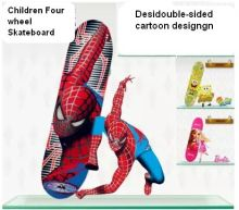children's skateboard skate scooter double-sided design entertainment skateboard
