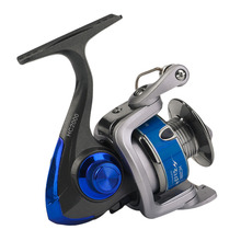Yumoshi Plastic Electroplating Fishing Reels With Folding Handle Left/Right Hand Interchangeable Spinning Reel 2017 New(China)