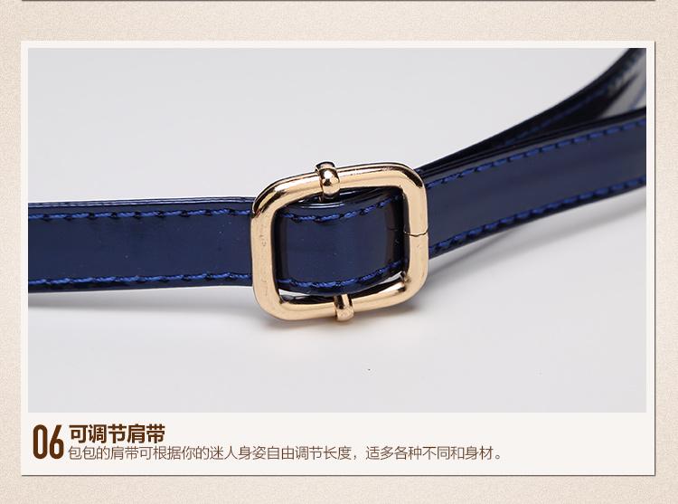 New High Quality Patent Leather Women bag Ladies Cross Body messenger Shoulder Bags Handbags Women Famous Brands bolsa feminina (28)