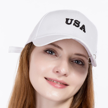 Women's cap fashion casual brand baseball hat cotton letters USA men ladies outdoor sports snapback hat bone dad hat wholesale(China)