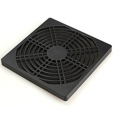 1 piece 9CM Computer Guard Black Plastic Dustproof Dust Filterable 90mm PC Case Fan Cooler Filter Cover Bracket w/  Foam,95x95mm