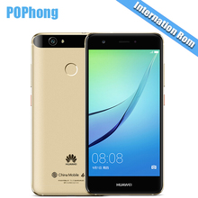International ROM Huawei Nova 3GB/4GB RAM 32GB/64GB ROM 5.0 inch Dual SIM Mobile Phone MSM8953 Octa Core Android 8.0MP+12.0MP