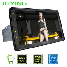 "JOYING 2GB+32GB Android 6.0 GPS Navigation Universal Single 1 DIN 8"" Car Radio Stereo Head Unit Support Dual Zone Steering Wheel(China)"