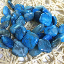 Fashion light blue square stone 15mm crazy lace calaite loose beads diy jewelry making findings 15inch F067GS