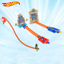 Original Hot Wheels Car Toys Upgraded version Toy Car Track BCT35 Best Boy Birthday Christmas Gift