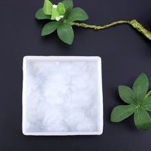 1pc Water Ripple Silicone Mold DIY resin jewelry Pendant Necklace Pendant Mold Resin Molds For Jewelry(China)