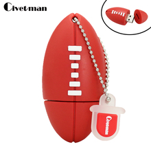 Pendrive Rugby Usb flash drive 4GB 8GB 16GB 32GB pen drive usb 2.0 memory stick drive personalized gifts(China)