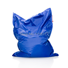 Ywxuege Blue Waterproof Garden Outdoor / Indoor Bean Bag Sofa Chair Covers, Lazy Soft Beanbag Bed Free Shipping