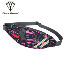 Fashion Waist Packs Fanny Pack Bag Waterproof women Waist Belt Bag men Travel Wallet Unisex out Leg Bag Pouch Bum Hip Phone(China)