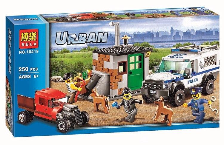 Bela Urban City Toys For Children Police Commandos  Building Block  Toys For Boy Birtydays Gift<br><br>Aliexpress