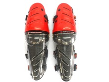 Motorcycle Shin Guard Motocross knee protector racing knee pad black blue and red(China)