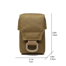 Men Tactical Molle Pouch Belt Waist Pack Bag Small Pocket Military Waist Pack Running ICOMM Pouch Travel Camping Bags TW-P010
