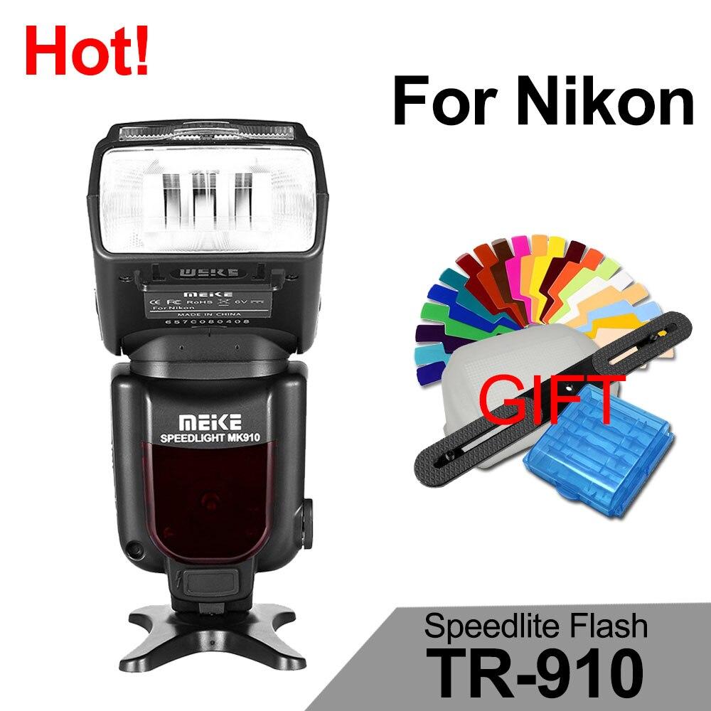 MEIKE MK-910 MK910 i-TTL Mode 1/8000s HSS Sync Master &amp; Slave Flash Speedlight for Nikon SB-910 SB-900 D7100 D800 D3300 D600 D90<br><br>Aliexpress
