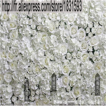 NEW 10pcs/lot Artificial silk rose flower wall wedding background decoration or lawn/pillar road lead market decoration TONGFENG