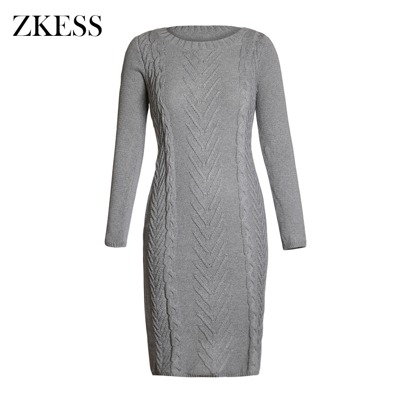 Gray-Women-s-Hand-Knitted-Sweater-Dress-LC27772-11-2