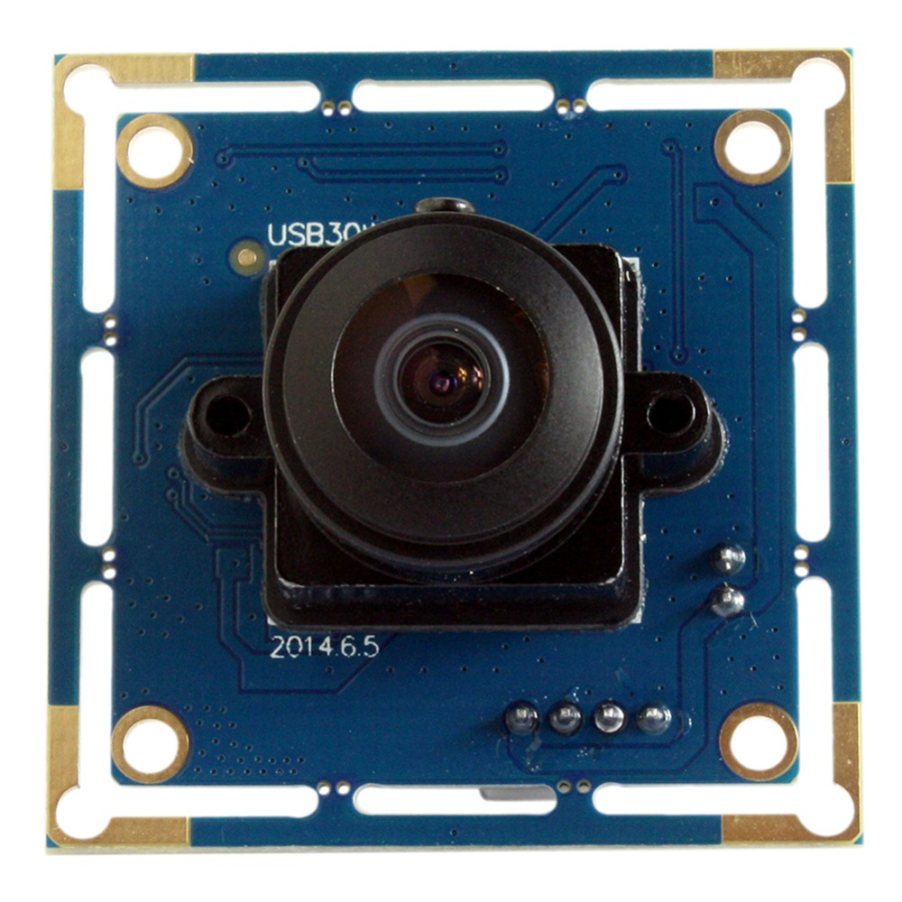 300K pixels MJPEG mini cmos usb camera module with wide angle 170degree fisheye lens UVC for android , Windows and Linux<br>