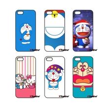 Love Japan Cartoon Doraemon Print Hard Phone Case For Samsung Galaxy Note 2 3 4 5 S2 S3 S4 S5 MINI S6 S7 edge Active S8 Plus(China)