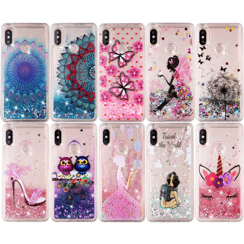 Unicorn Liquid Glitter Sand Phone Case