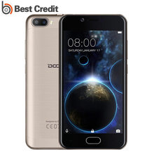"DOOGEE Shoot 2 Mobile Phone Dual Back Cameras MTK6580 2GB RAM 16GB ROM Front Touch ID 5.0""HD Android 7.0 3G WCDMA Smartphone(China)"