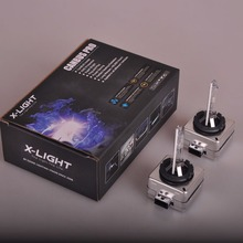 2 x D1S Genuine X-LIGHT XENON BULB REPLACEMENT FOR PHILIPS GE OR OSRAM Original 8000K Ultra Platinum +50%