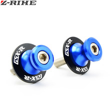 For Suzuki CNC Aluminum Motorcycle parts Swingarm Sliders Spools For Suzuki GSX-R GSXR 600 750 1000 K1 K2 K3 K4 K5 K6 K7 K8(China)