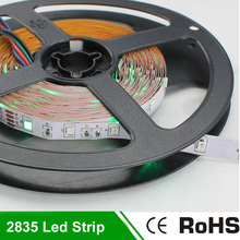 12V Non Waterproof Led Strip Light Lamps 5M 300 leds SMD 2835 LED Ribbon White Yellow Green Bule Red led backlight tv Strips(China)
