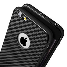 Silicone Case For Iphone 6 6S Plus 7 5 5S SE TPU Coque Luxury Back Cover Soft Black Ultra Thin Matte Rubber For iphone 6 S