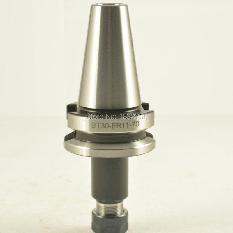 ER11 collet cnc chuck tool chuck BT30 chuck ER collet 1pcs BT30 ER11 70mm runout 0.005mm Milling chuck arbors<br>