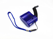 Portable Wind UP Dynamo Hand Crank USB PDA for MP3 Cell Phone Emergency Charger(China)