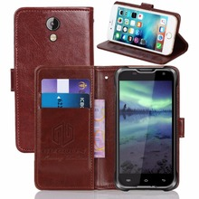 GUCOON Vintage Wallet Case for Blackview BV5000 5.0inch PU Leather Retro Flip Cover Magnetic Fashion Cases Kickstand Strap
