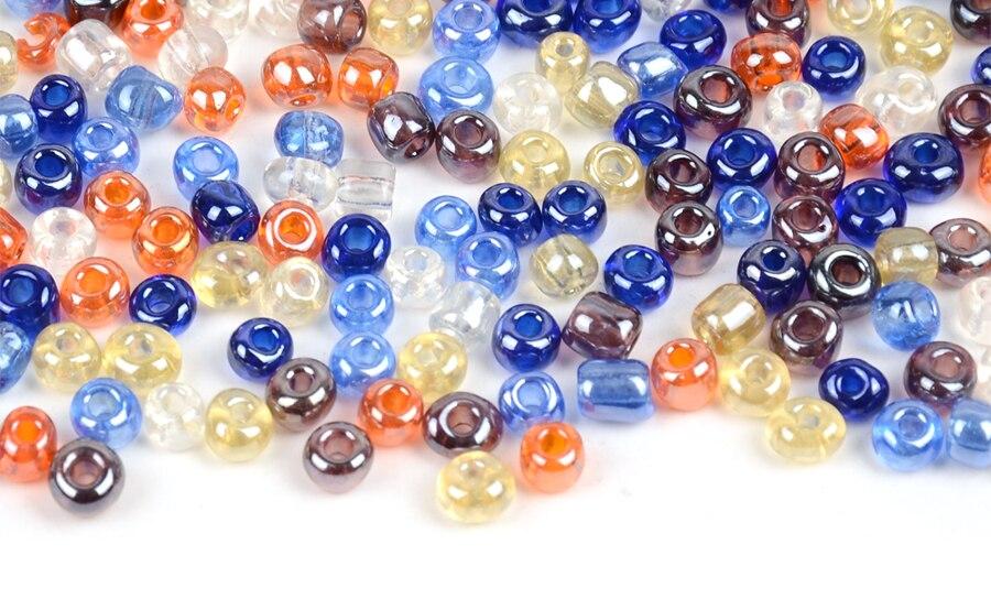 Hot 2x6mm 15 g 450pcs Czech glass Tube BUGLE perles couleur rose
