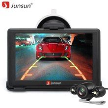Junsun 5 inch FM 8GB Bluetooth Car GPS Navigation with Rear View Camera Windows CE 6.0 Navigatior Automobile Maps(China)