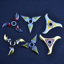 Watch Of Pioneer Turn darts Fidgets Cube Spinner Toys Hand Rotary Tri-spinner Naruto Shuriken Naruto Dragon Blade Sword in Hand