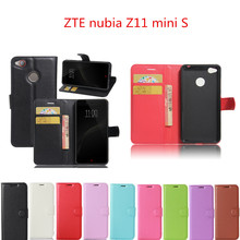 Hot Selling For ZTE Nubia Z11 MiniS Case 5.2inch Wallet Style PU Leather Phone Back Cover For ZTE nubia Z11 mini S Cover Case