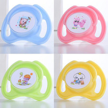 Random Cute Color Baby Silicone Pacifier Butterfly Round Pacifiers Newborn Kids Soother