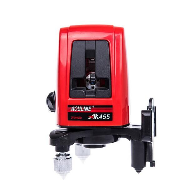 AK455 3lines 3dots 360degree Self-leveling Cross laser line Laser Level Red Laser spirit level HOTSALE Level Tools<br>