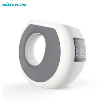 Nillkin Charger Dock USB Wireless charger bluetooth speaker for iphone 6 /samsung/xiaomi/huawei/alarm clock/dsp/aux/nfc