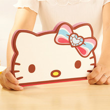 Cute Cartoon Hello Kitty Case For iPad Air ipad5 KT Cover Stand Leather For Apple iPad 5 Case Tablet Protective Cover Fundas(China)