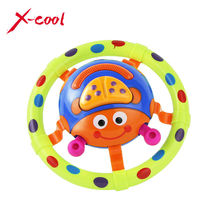 XC6613-5 cute baby toys with sound and light / ladybug baby toy / children musical toys / grasping toy as a gift for little kids