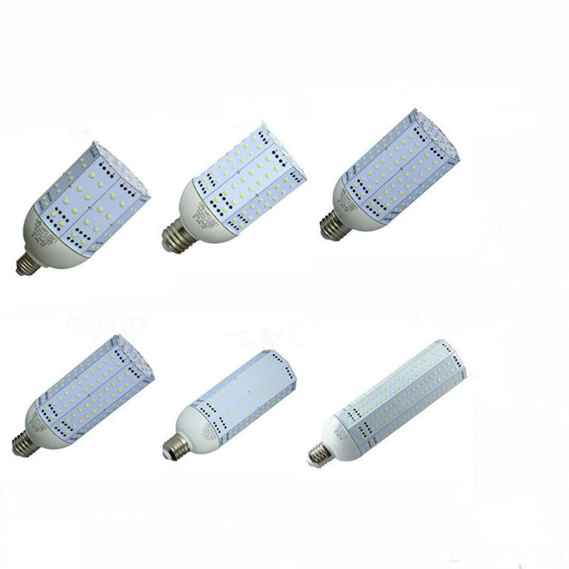 E26 E27 E39 E40 LED Corn light Bulbs AC85-265V 30w 40w 60w 80w 100w 120w 150w SMD5730 garden warehouse parking lot lamps<br>