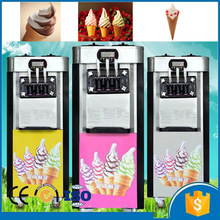 20-25L/H 220v 50hz 3 flavors soft ice cream maker making machine price commercial