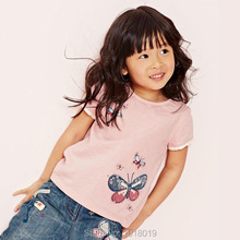 Buy New 2017 Brand 100% Cotton Baby Girls t shirt Toddler Kids Clothing Children Clothes Short Sleeve Shirt Baby Girl Blouse for $7.55 in AliExpress store