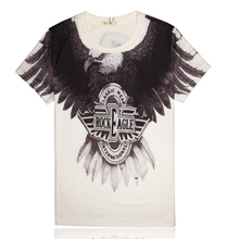 2016 creative 3D print t shirts series fashion colorful lion head/eagle animal printed pullover jerseys