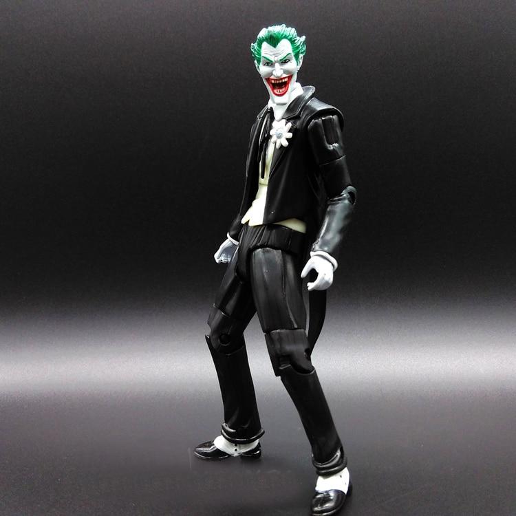 1pcs Joker Knife Superman V Batman Justice League The Dark Knight Marvel PP BAG Rises Avengers Super Hero PVC 17cm Figures<br><br>Aliexpress