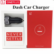 Original Oneplus Dash Car charger DC01B Model 3.4V-5V/3.5A Dash Charge Standard 5V=2A For One plus 5 / 3T / 3 Mobile Phone