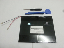 3.7V,8000mAh,polymer lithium ion /Li-ion battery for tablet pc,MID,PDA,DIY for Sanei N10 Ampe A10 Quad Core,HKC T90 Dual Core