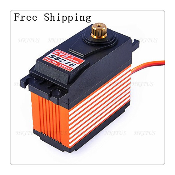 Wholesale CYS-S8218 Digital servos Metal Gear High Torque Servo Motor 6V-7.2V 0.18sec/60 a 164g Metal Gear 40KG Free Shipping<br>